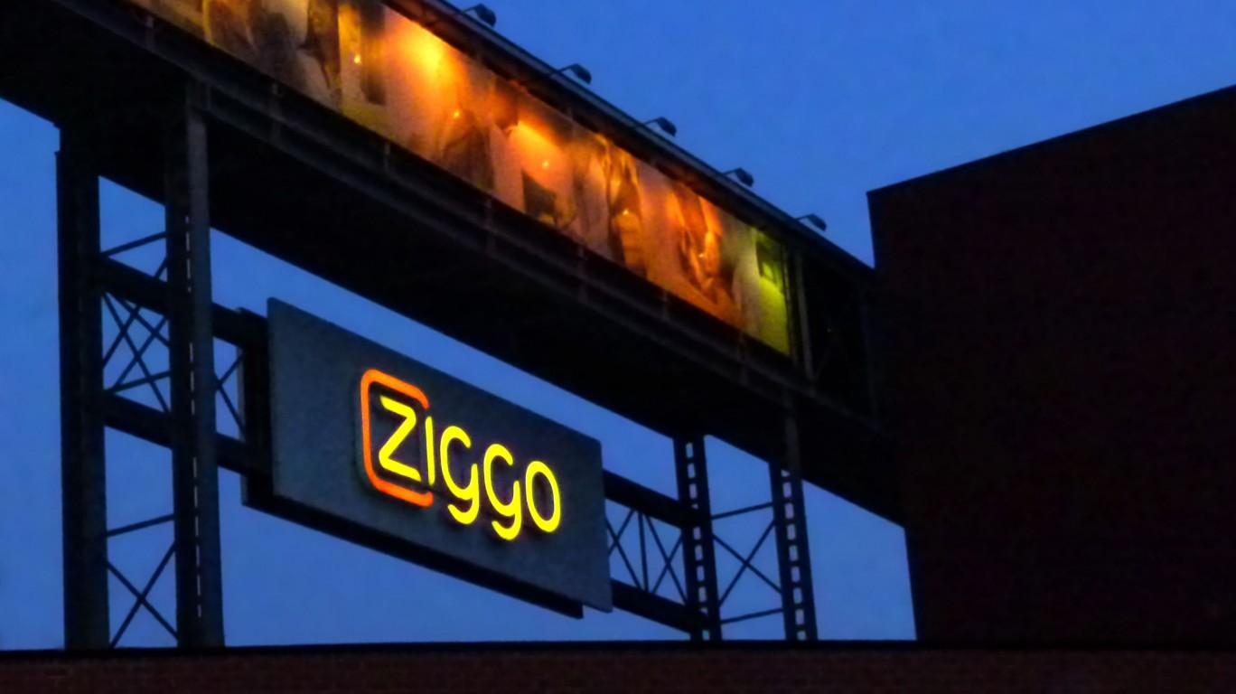 Ziggo reclamezuil | Signaal lichtreclame
